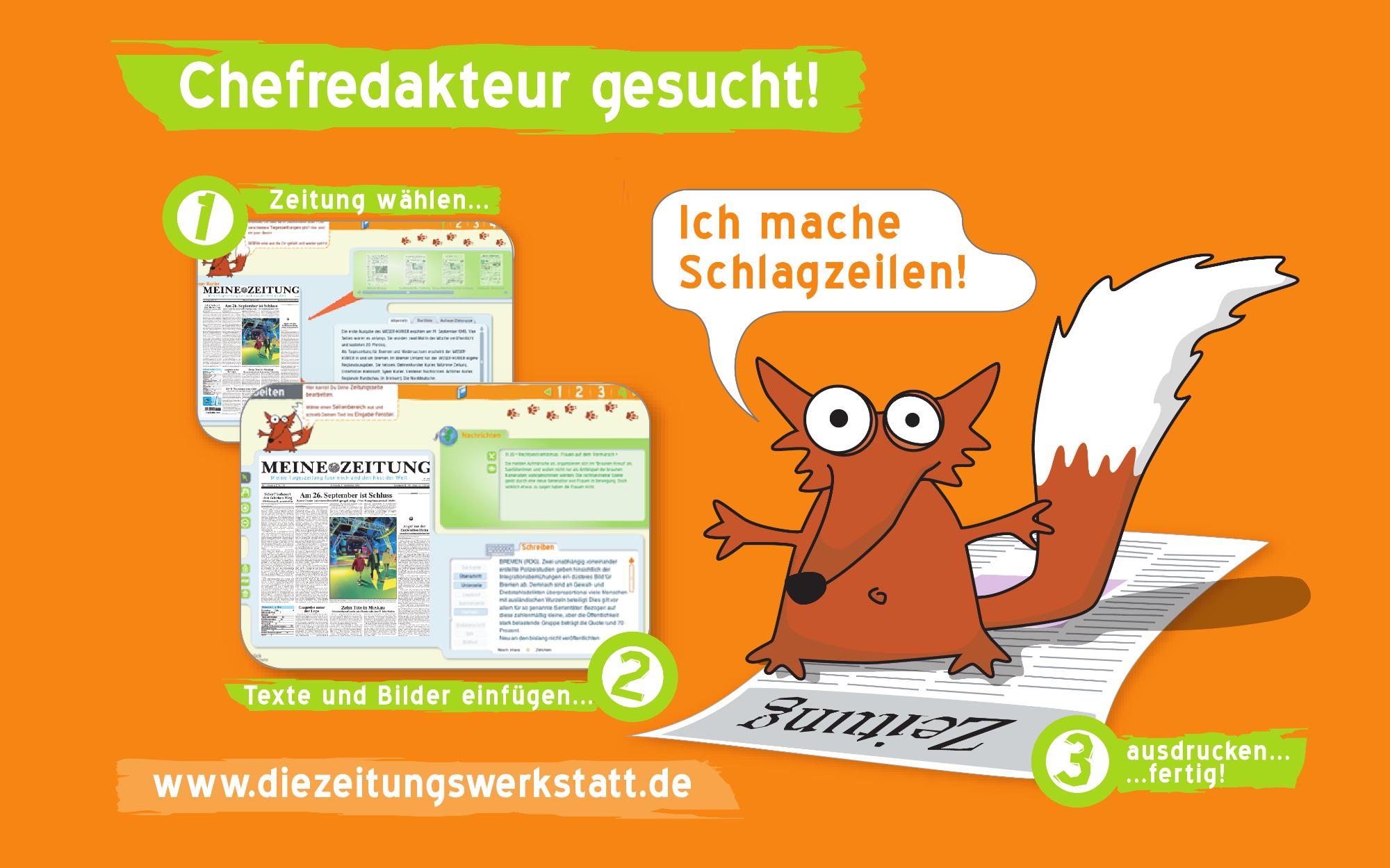 Beitragsbild Interaktive Zeitungswerkstatt